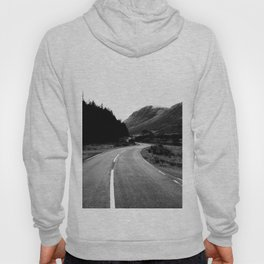 Road through the Glen - B/W Hoody