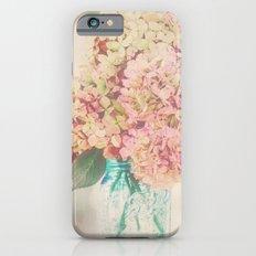 Dreamy Autumn Hydrangea Flowers Still Life iPhone 6s Slim Case