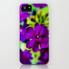 Psychedelic Purple iPhone Case