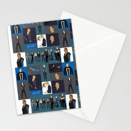 Agents of SHIELD - Minmalist Stationery Cards