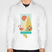 florida Hoodies featuring Florida by Tank Top Sunday