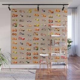 Sushi set Wall Mural