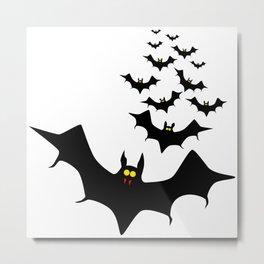 Vampire Bats Metal Print