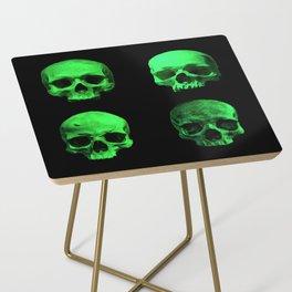 Skull quartet green Side Table