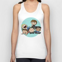 cyrilliart Tank Tops featuring Cutie Pile by Cyrilliart