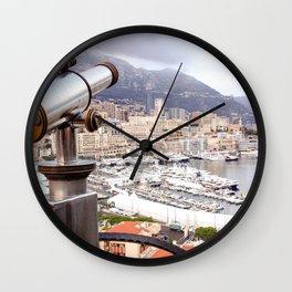 Monaco, French Riviera Wall Clock