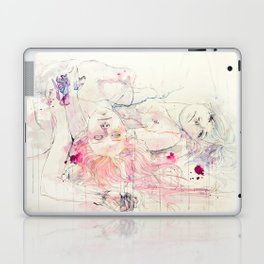 in bloom, each growing petal is an internal wound Laptop & iPad Skin