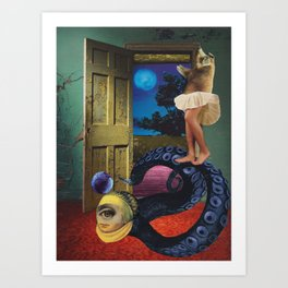A night to remember Art Print