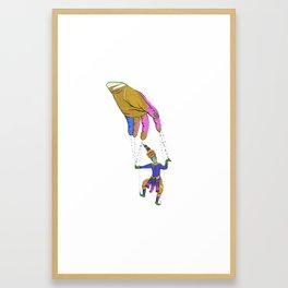 Puppet Master Framed Art Print