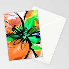 Ecstasy Bloom No.17h by Kathy Morton Stanion Stationery Cards