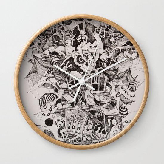 Flighless bird Wall Clock