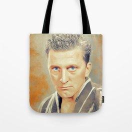 Kirk Douglas, Hollywood Legend Tote Bag