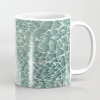 mercedes Mugs featuring Shattered by RichCaspian