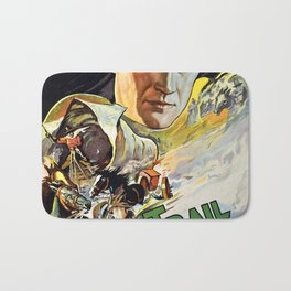 Vintage poster - The Oregon Trail Bath Mat