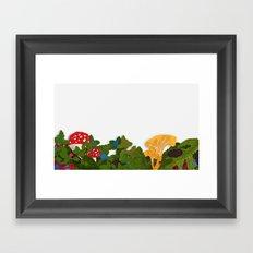 SKOGSLANDET Framed Art Print