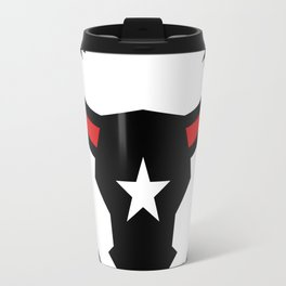 Texas Longhorn Barbed Wire Icon Travel Mug