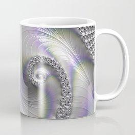 Fractal Art-Opalescent Shell Coffee Mug