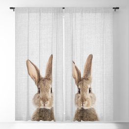 Rabbit - Colorful Blackout Curtain
