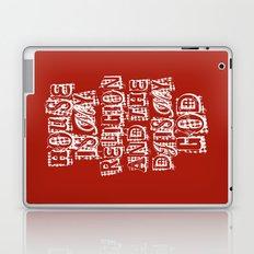 House Is My Religion Laptop & iPad Skin