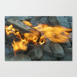 camp vibes Canvas Print