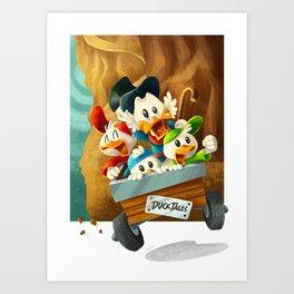 DuckTales Art Print