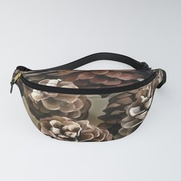 Pine Cones Organic Christmas Ornaments Fanny Pack