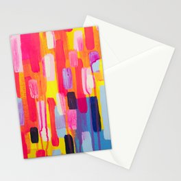 Neon Cities Stationery Cards