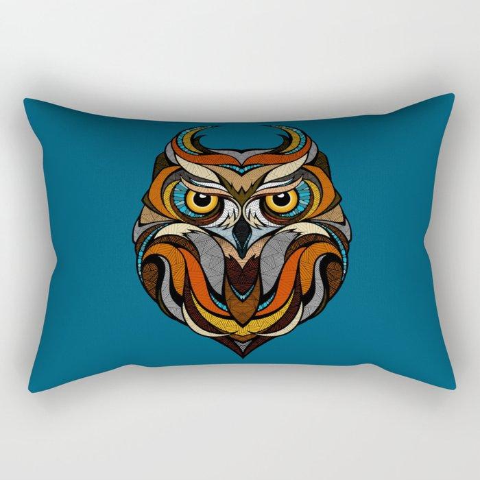 Oldschool Owl Rectangular Pillow