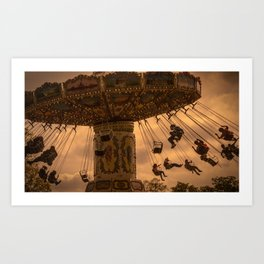 Waveswinger Art Print