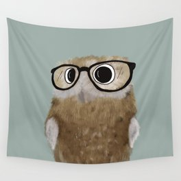 Owl Be Seeing You Wall Tapestry