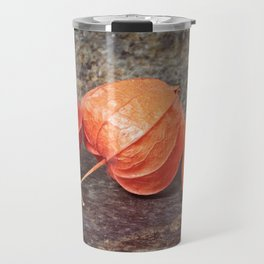 Fall colors with the winter cherries Travel Mug
