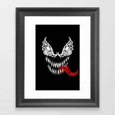 Tribal Venom Framed Art Print