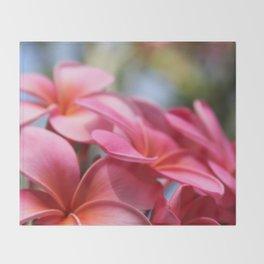 He Pua Lahaole Ulu Wehi Aloha Throw Blanket