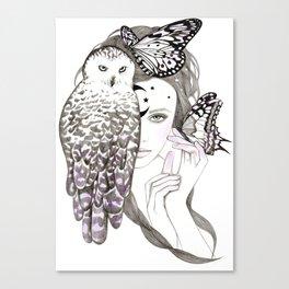 NightOwl Canvas Print