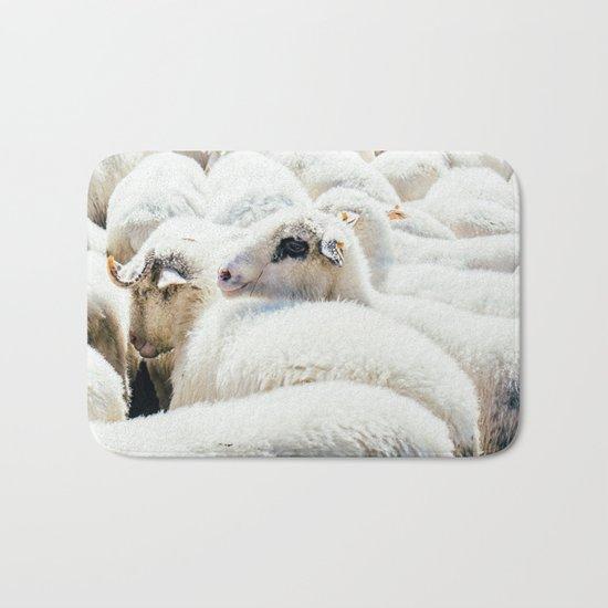 Sheep Flock Bath Mat