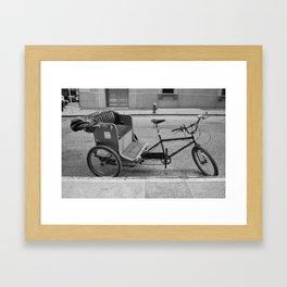 Trike Framed Art Print