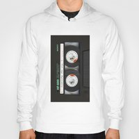 daenerys targaryen Hoodies featuring cassette classic mix by neutrone