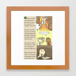 Antics #239 - reign of jeff: part 3 Framed Art Print