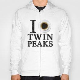 I Love Twin Peaks (Coffee) Hoody