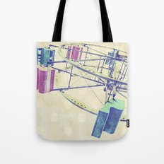 Nice Day for a Ferris Wheel Ride ... Tote Bag