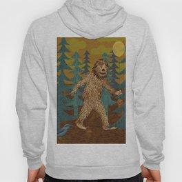 Bigfoot birthday card Hoody