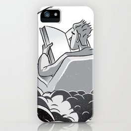 Reading book is heaven iPhone Case