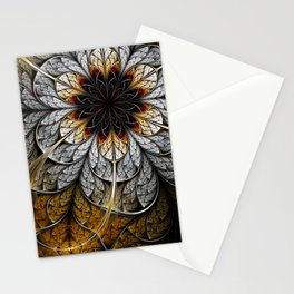 Flower II - Abstract Fractal Artwork Stationery Cards