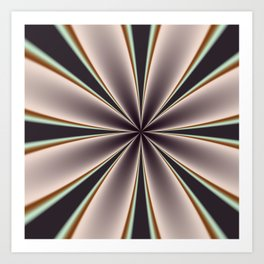Fractal Pinch in BMAP02 Art Print