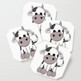 Cuddly Cow Coaster