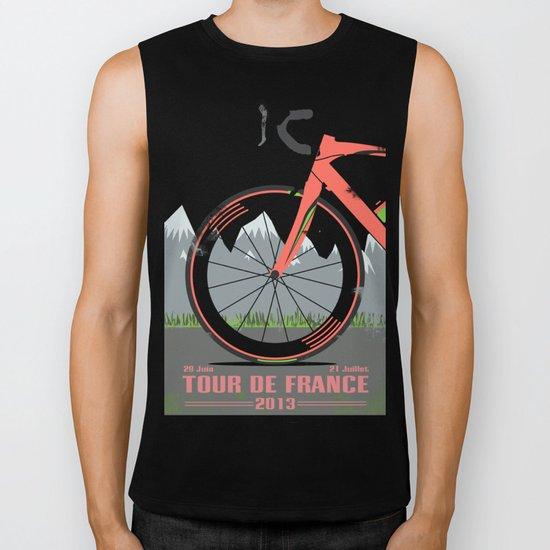 Tour De France Bike Biker Tank