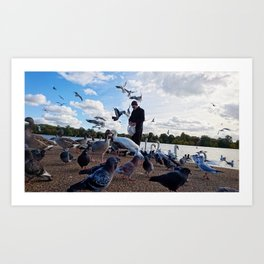 Birdman III Art Print