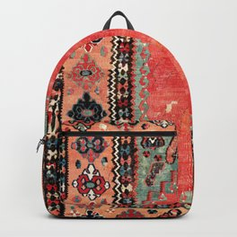 Sivas  Antique Cappadocian Turkish Niche Kilim Backpack