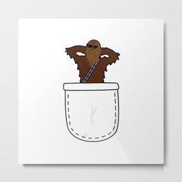 Pocket Chewie Metal Print