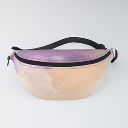 150306 Abstract Watercolor An Imperfect Circle 7 Fanny Pack